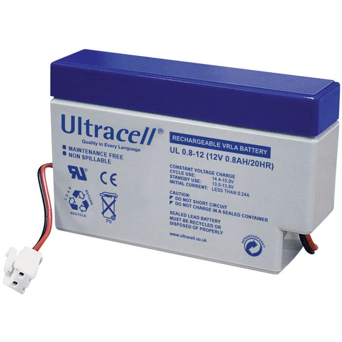 Ultracell UL0.8-12 Επαναφορτιζόμενη Μπαταρία Μολύβδου 12 Volt / 0,8 Ah