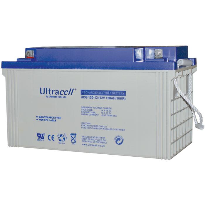 Ultracell UCG120-12 Επαναφορτιζόμενη Μπαταρία Μολύβδου 12 Volt / 120 Ah