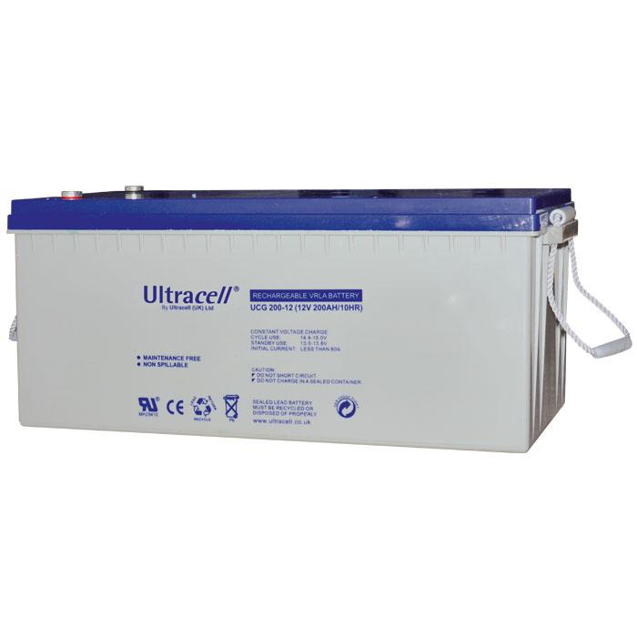 Ultracell UCG200-12 Επαναφορτιζόμενη Μπαταρία Μολύβδου 12 Volt / 200 Ah
