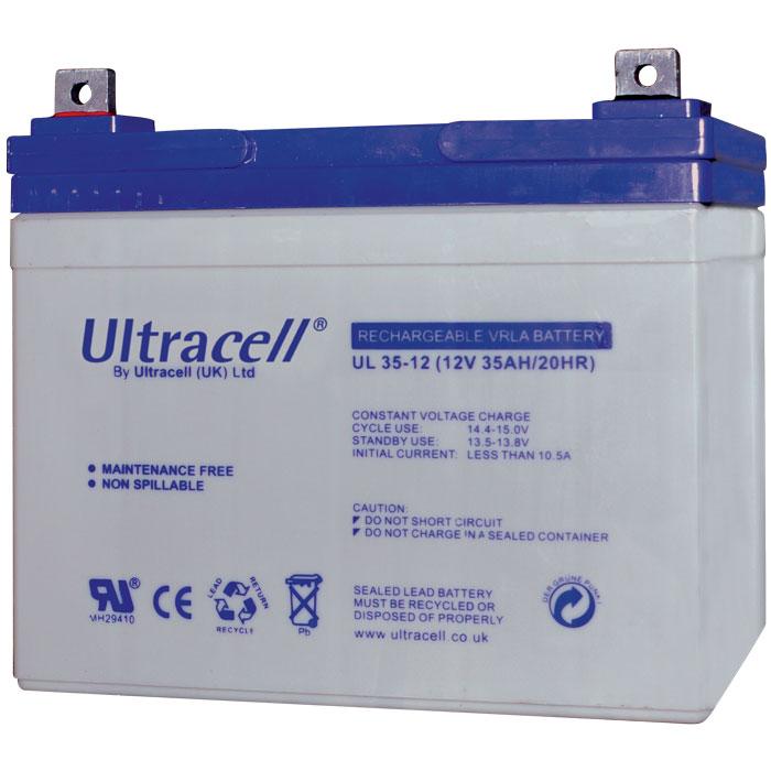 Ultracell UL35-12 Επαναφορτιζόμενη Μπαταρία Μολύβδου 12 Volt / 35 Ah