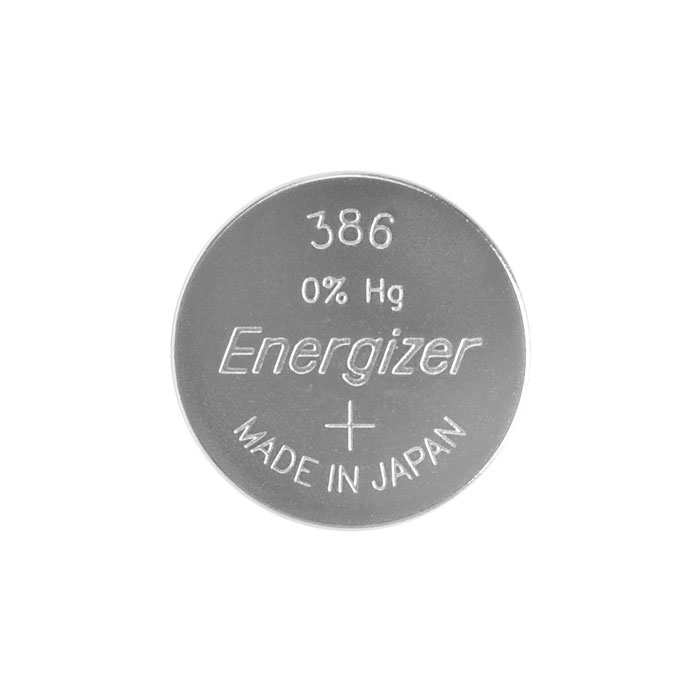 ENERGIZER 386-301 WATCH BATTERY