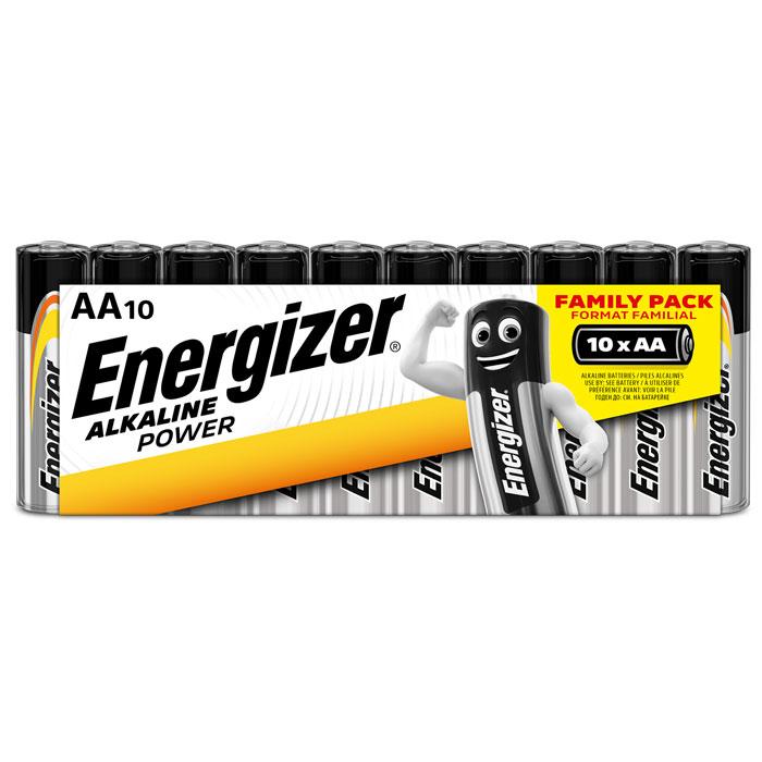 ENERGIZER AA-LR6/10TEM ALKALINE POWER FAMILY PACK