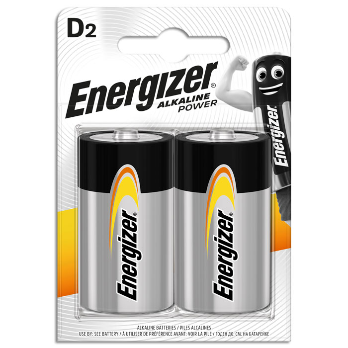 ENERGIZER ALKALINE POWER D