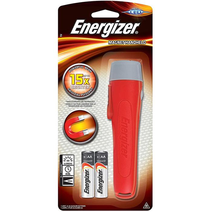 ENERGIZER MAGNET HANDHELD LED FLASH LIGHT 2AA