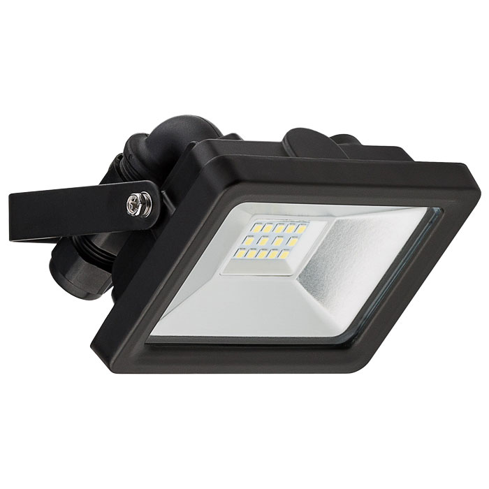 GOOBAY 59001 LED OUTDOOR FLOODLIGHT BLACK 10W 830lm