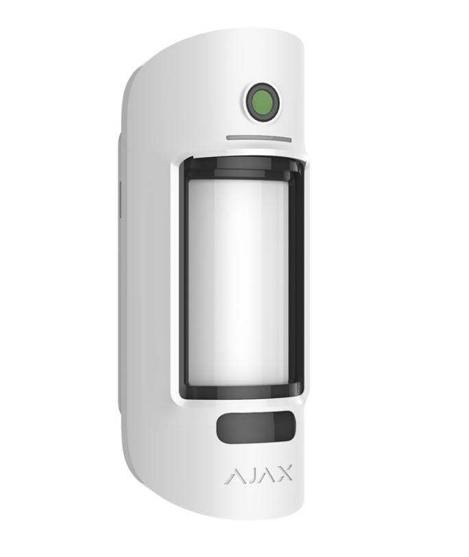 Ajax Motion Cam Outdoor Εξωτερικός Ανιχνευτής Κίνησης PIR & Antimasking, με Ενσωματωμένη Κάμερα