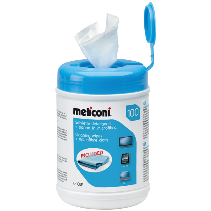 MELICONI C-100P CLEANING WIPES 100pcs