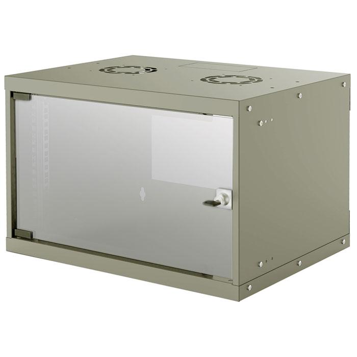 INTELLINET INT 714150 FLATPACK 19 6U (353x540x400) BASIC WALLMOUNT CABINET GREY
