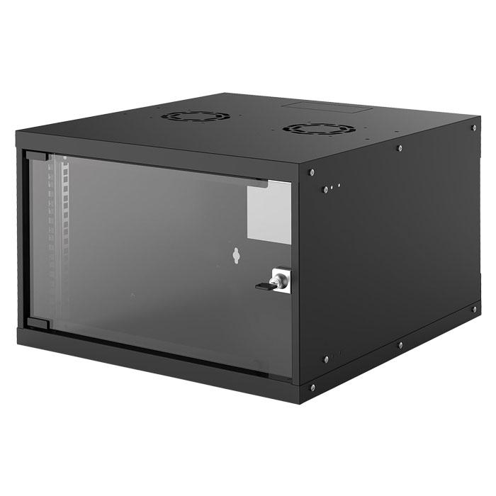INTELLINET INT 714785 FLATPACK 19 6U (353x540x560) BASIC WALLMOUNT CABINET BLACK