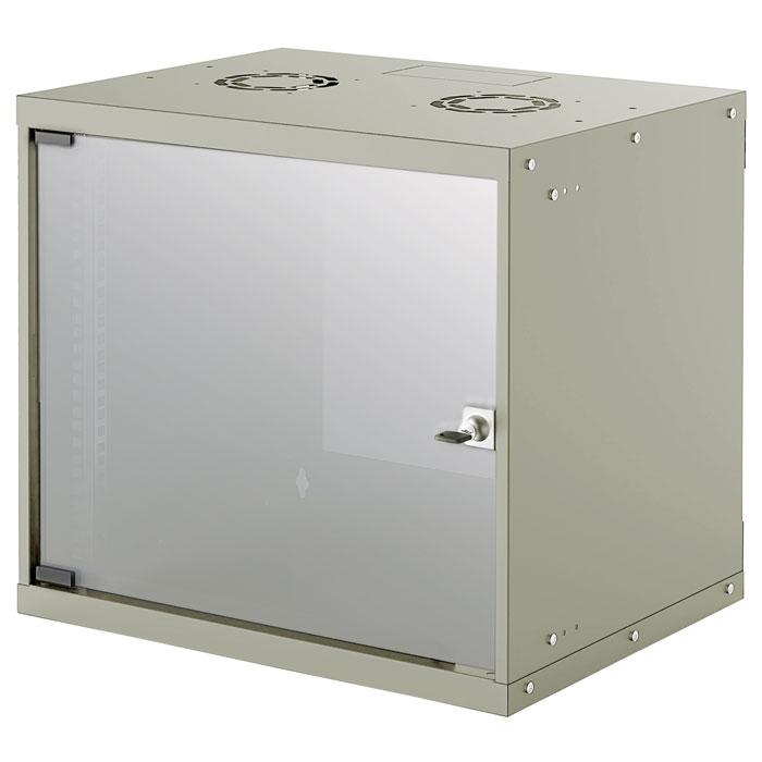 INTELLINET INT 714167 FLATPACK 19 9U (487x540x400) BASIC WALLMOUNT CABINET GREY