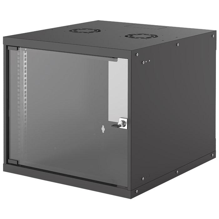 INTELLINET INT 714808 FLATPACK 19 9U (487x540x560) BASIC WALLMOUNT CABINET BLACK