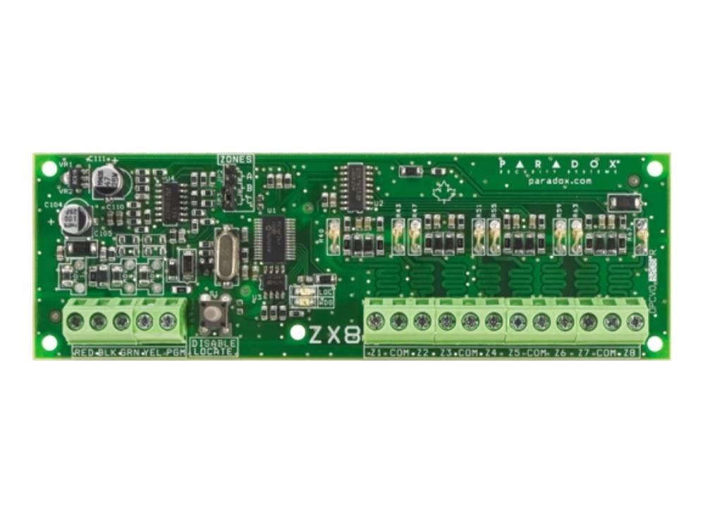 Paradox ZX8SP Module Επέκτασης 8 Ζωνών