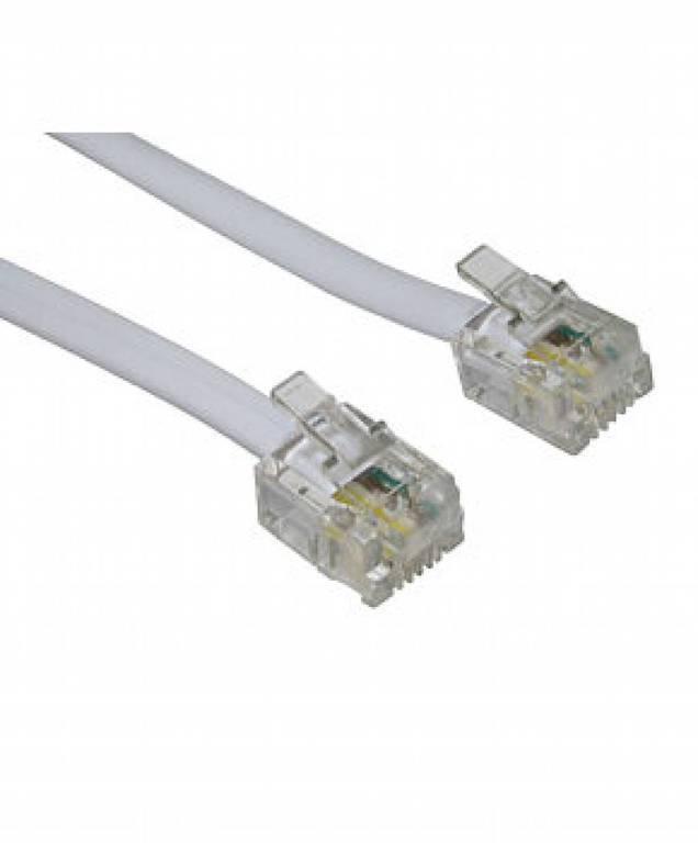 OEM, Τηλεφωνικό Καλώδιο 6P4C 10m. T205-64 KD35