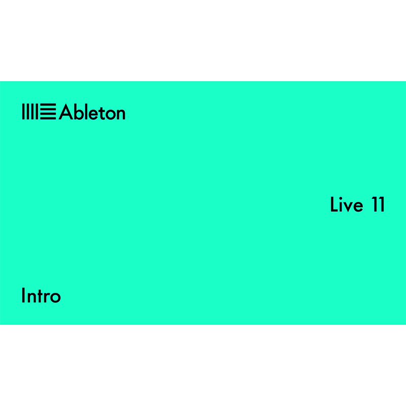 Live 11 Intro (Serial Only)