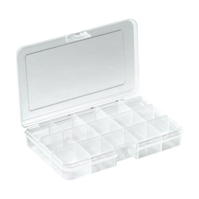 RND 550-00102 - Assortment Box, 163x112x31mm, Clear, RND Lab