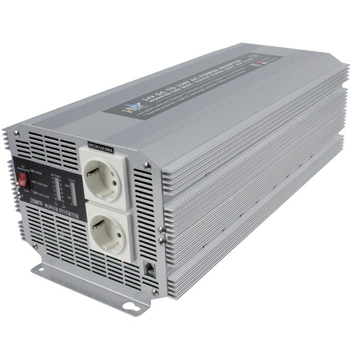 HQ-INVERTER 2500W/24V TO 230V