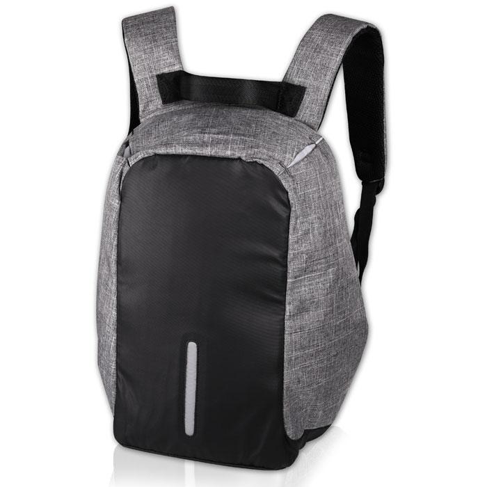 NOD CitySafe 15.6  LBP-200 Backpack for laptop up to 15.6,black grey & black