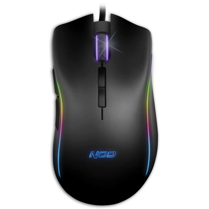 NOD TA-50 RGB Wired Gaming Mouse, RGB LED / G-MSE-8