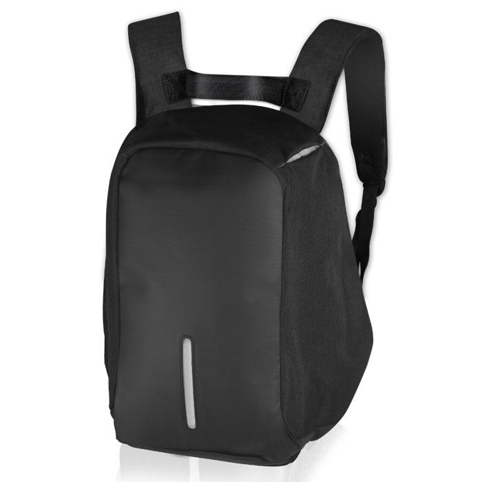 NOD CitySafe 15.6 Black Edition LBP-201 Backpack for laptop up to 15.6,black &