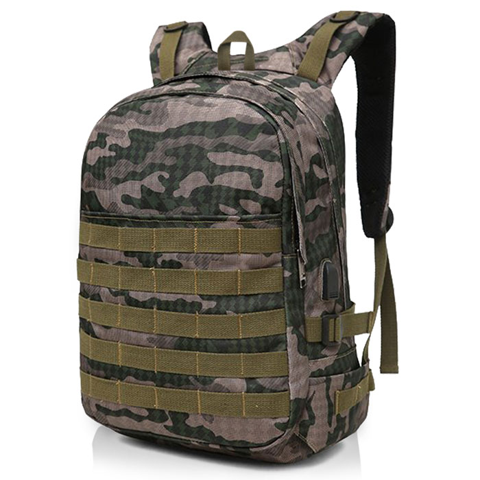 NOD Camo Backpack for laptop up to 15.6,camouflage