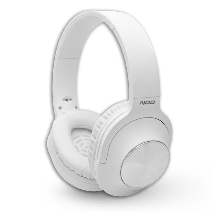 NOD PLAYLIST WHITE BLUETOOTH FOLDABLE HEADPHONES