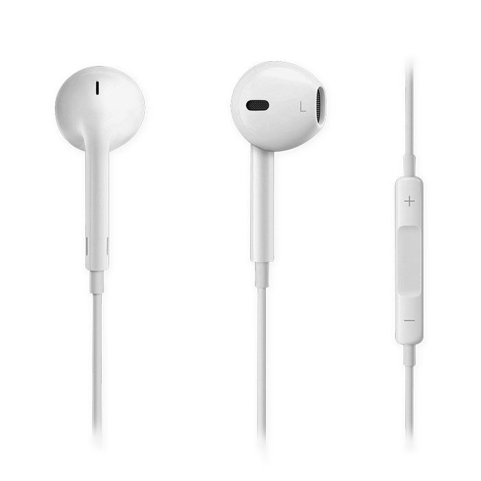 NOD SOUNDKIT HANDSFREE HEADPHONES IN PLASTIC BOX, WHITE COLOR