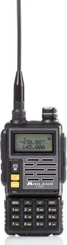 Midland CT-690 Dual Band Πομποδέκτης VHF/UHF