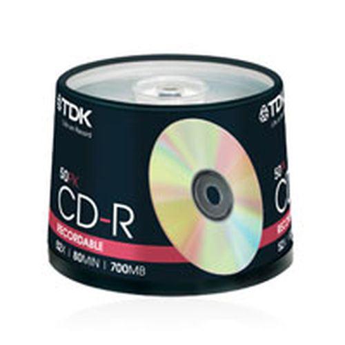 TDK CD-R 50PK