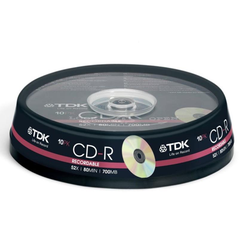 TDK CD-R 10 TEMAXIA