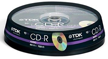 TDK CD-R AUDIO 10 TEMAXIA