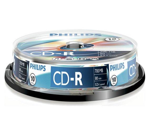PHILIPS CD-R 10 TEMAXIA