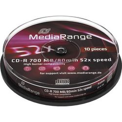 MEDIARANGE CD-R 10 TEMAXIA