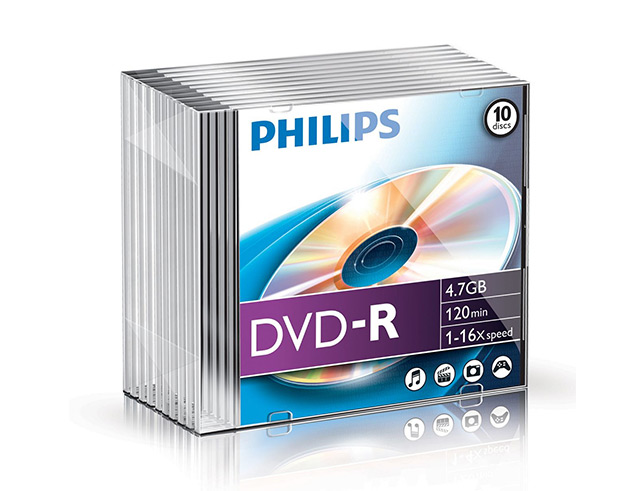 PHILIPS DVD-R SLIM CASE