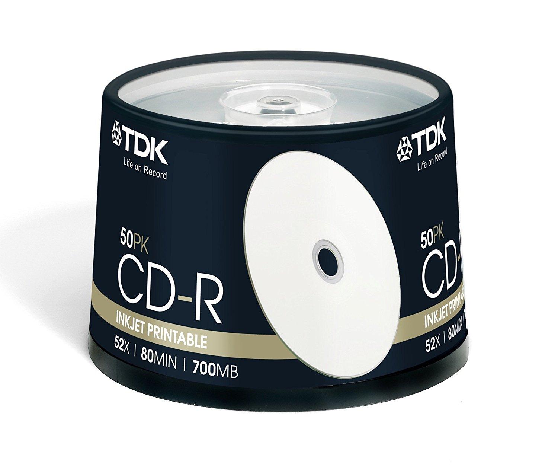 TDK CD-R PRINTABLE 50 TEMAXIA