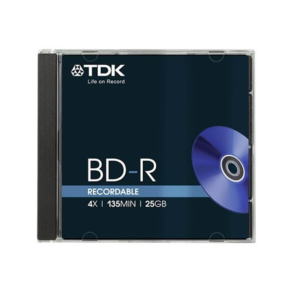 TDK BD-R RECORDABLE BLU-RAY DISC
