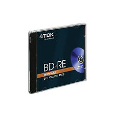 TDK BD-RE BLU-RAY REWRITABLE