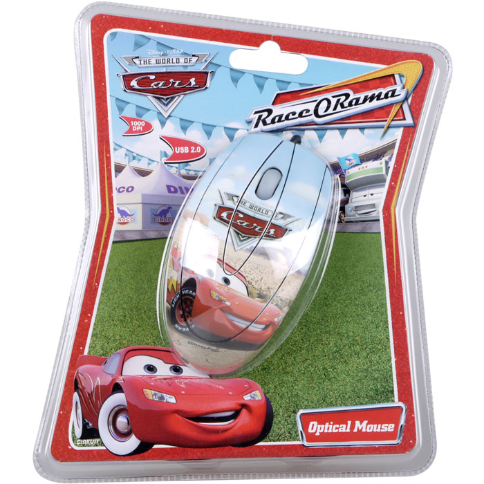 Optical Mouse Race Orama Disneys cars