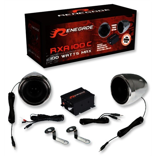 RENEGADE RXA100C Soundsystem Motorcycles/Scooters
