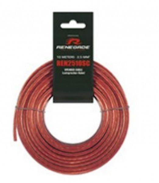 RENEGADE REN7510SC 10 m Speaker Wire 0,75 mm²