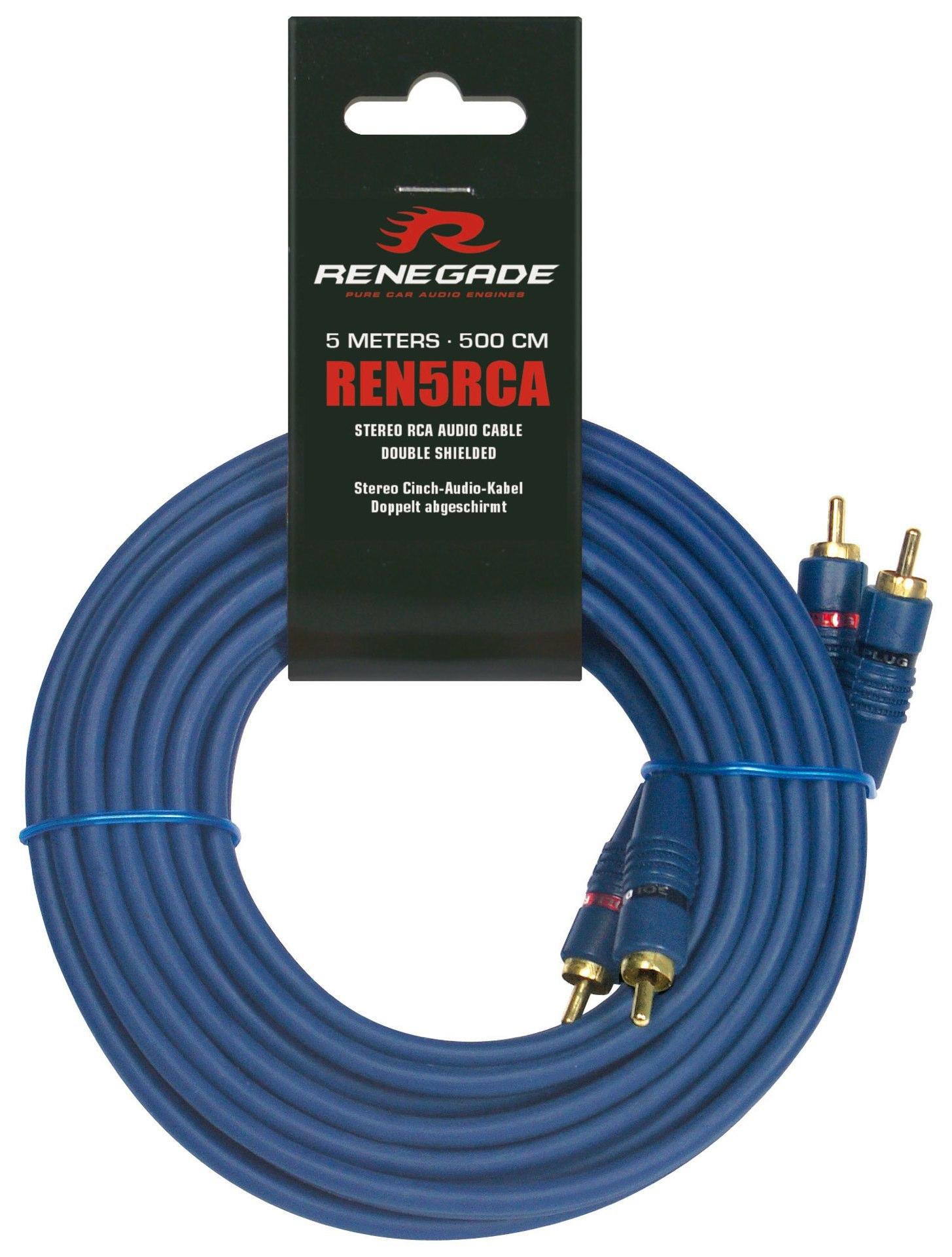 RENEGADE REN5RCA RCA CABLE 5m