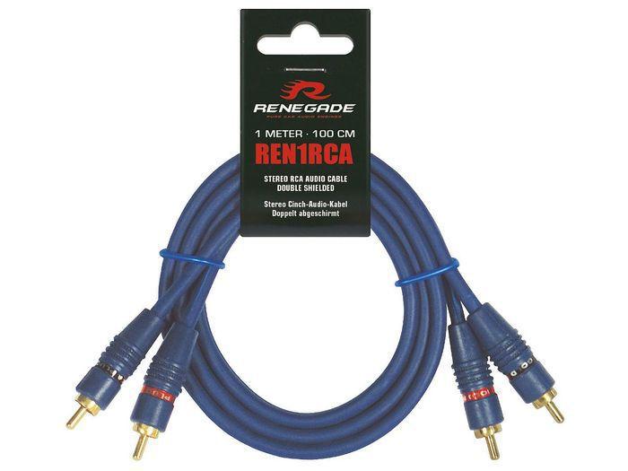 RENEGADE REN1RCA RCA CABLE 1M
