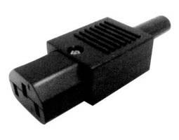 ULTIMAX AC CONNECTOR ΘΗΛΥΚΟ ΚΑΛΩΔΙΟΥ 3P 10A/250V AC-7010B UNI
