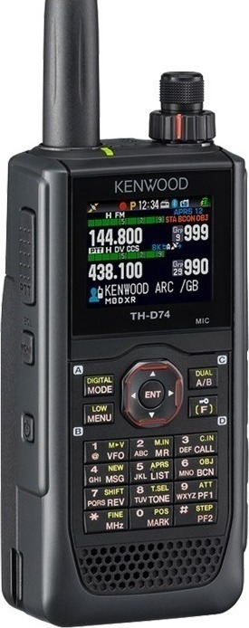 Kenwood TH D74  VHF/UHF DUAL BAND ΜΕ GPS