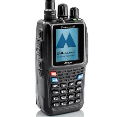Midland CT-890 Dual Band Πομποδέκτης VHF/UHF