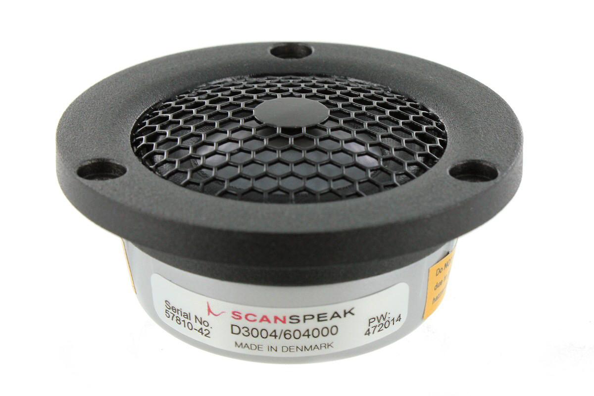 SCANSPEAK D3004/604000 26 mm Beryllium Dome Tweeter  4 ohm