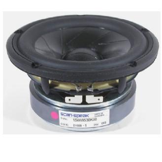 ScanSpeak 15M/4531K00 REVELATOR LINE 148mm  100Watt  90 db 4 Ohm