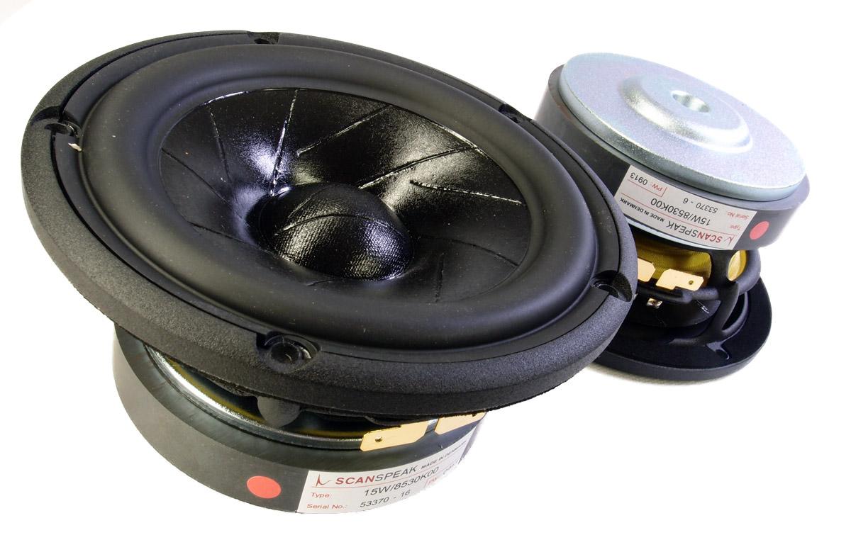 ScanSpeak 15W/8530K00 148 mm  100 Watt  87,5 db  8Ω REVELATOR WOOFER