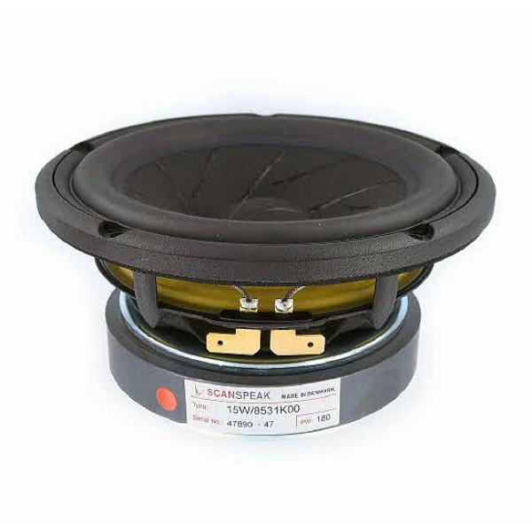 ScanSpeak 15W/8531K00 148mm  60Watt 85,5 db 8 Ohm MIDWOOFER