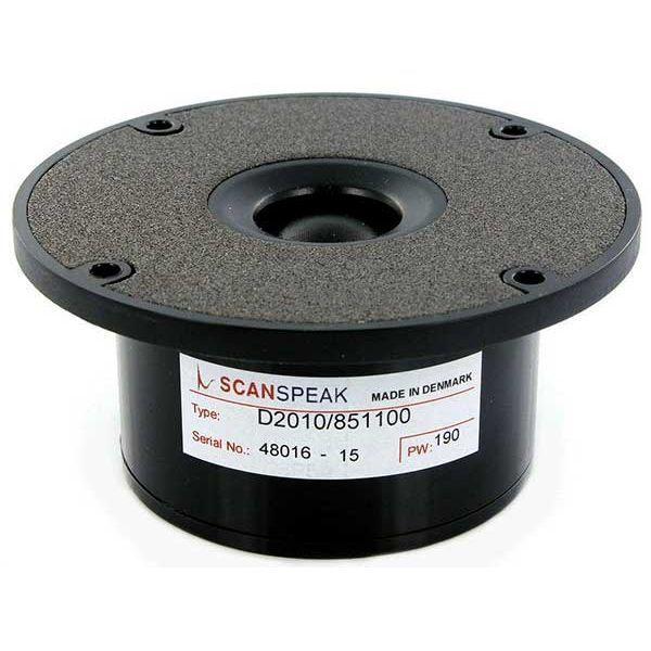 SCANSPEAK D2010/851100 98 mm 150 Watt  90 db  8Ω dome tweeter