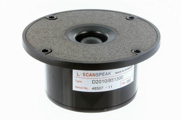 ScanSpeak D2010/851300 Dome Tweeter 98 mm  150 Watt  90 db  8Ω